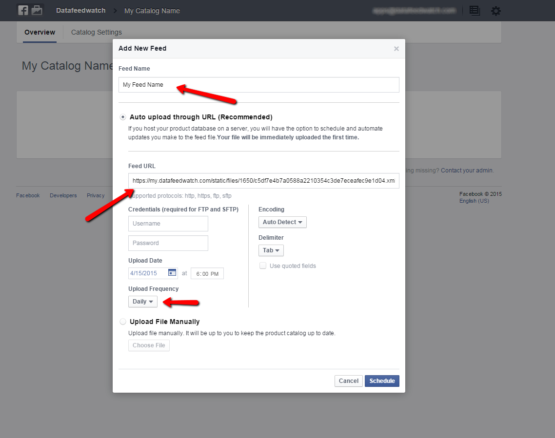 facebook-product-data-feed-scheduling
