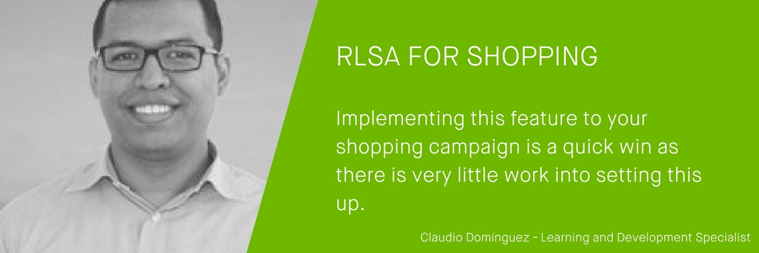 Google Shopping Expert Claudio Dominguez