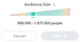 Audience Size in Snapchat Ads