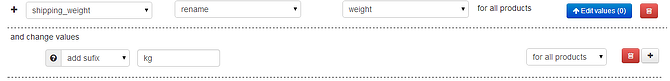 BigCommerce Shipping Weight