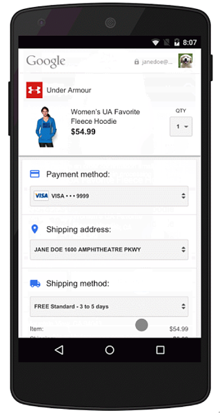 Buy Button Purchases on Google