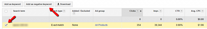 Create an AdWords Campaign and Add Negative Keywords