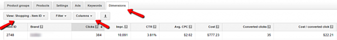 Create an AdWords Campaign with Winners and Losers Optimization