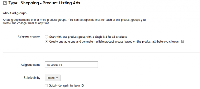 Create a New Ad Group in Google AdWords Campaign