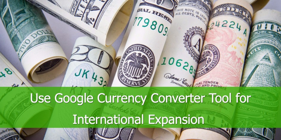Google Shopping Currency Convertor Tool