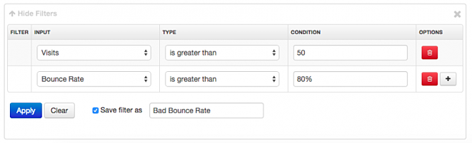 DataFeedWatch-Analytics Bad Bounce Rate Filter