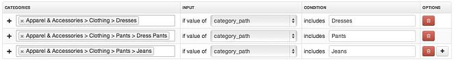 Tour Magento Shops Categories in DataFeedWatch