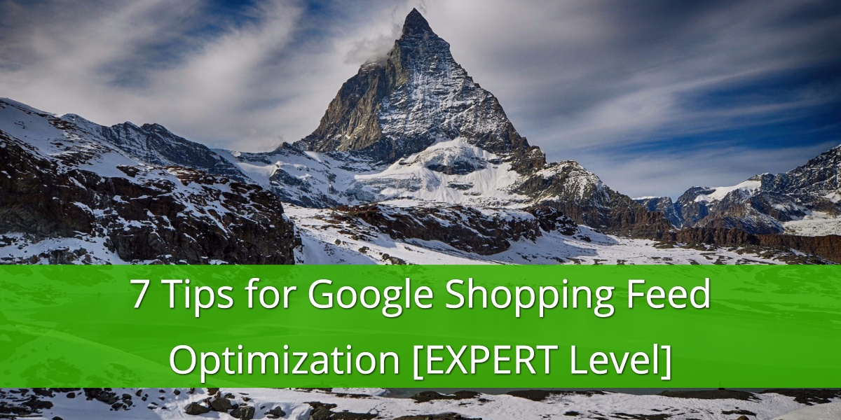 7 Expert Level Google Shopping Feed Optimizations