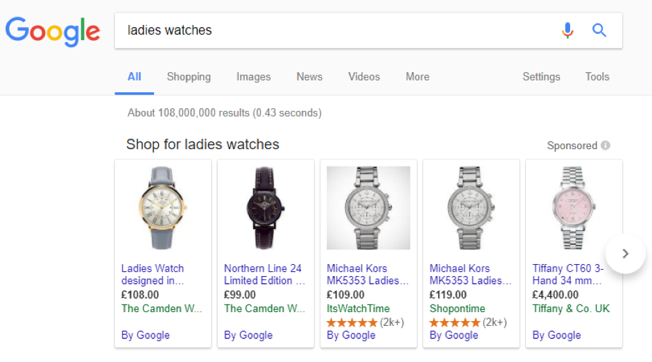 Google Product Reviews