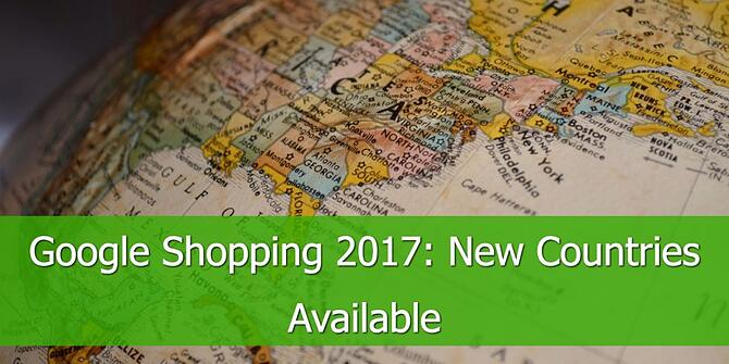 Google Shopping Available in New Countries in 2017