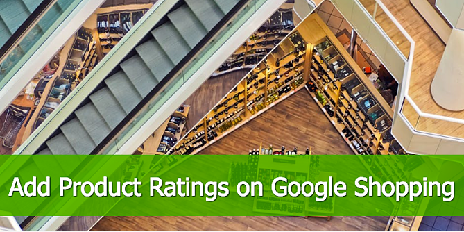 Add Product Ratings Google Shopping