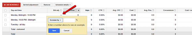 Increase and Decrease Bids in Google Shopping Campaign