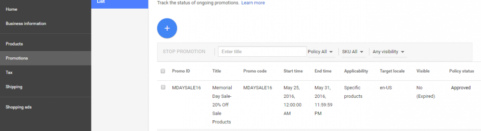 Merchant Promotions Google Shopping Feed Optimization