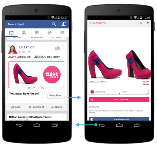 Mobile Facebook Dynamic Product Ads