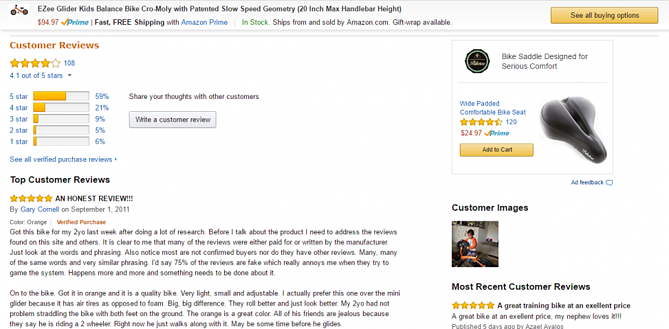 Optimize Customer Reviews for Amazon Product Listings