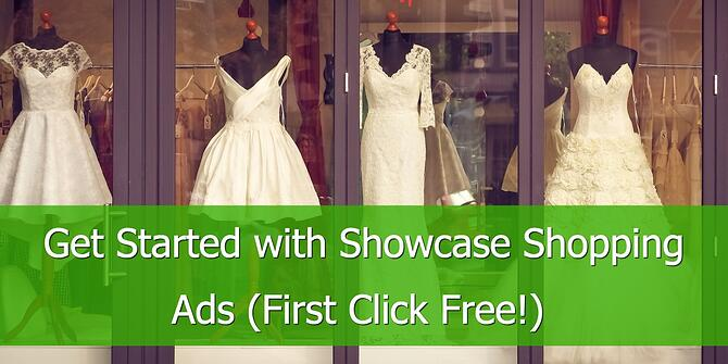 Google Showcase Shopping Ads