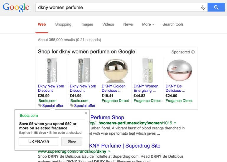 google_merchant_promotion_ads_on_google_serp