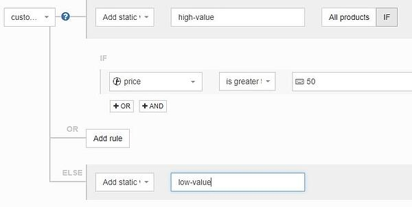 google_shopping_custom_labels_subdivide_by_price_with_datafeedwatch_rules