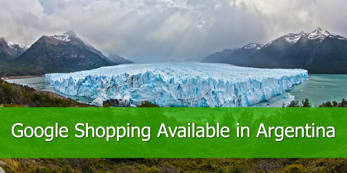 Google Shopping available in Argentina