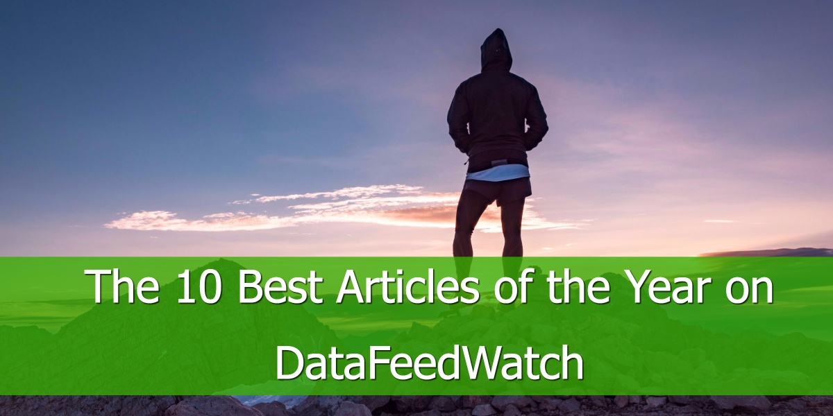 The 10 Best Articles of the Year on DataFeedWatch