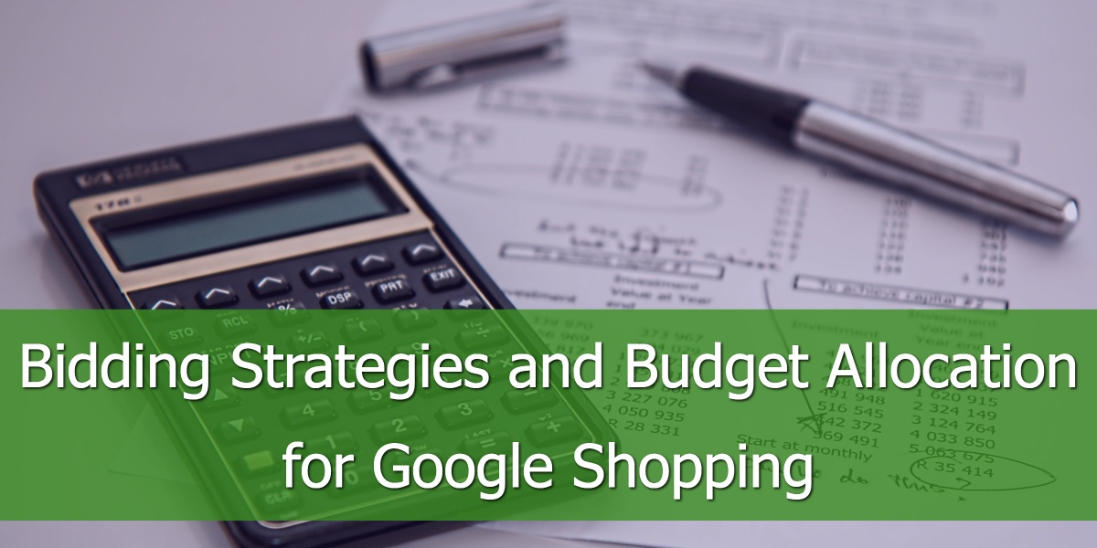 Bidding Strategies and Budget Allocation for Google Shopping